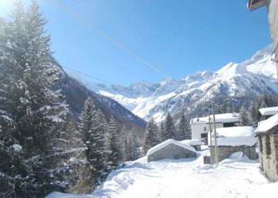Panorama invernale - Chalet Tana del Grillo