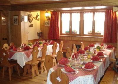 Sala da pranzo - Chalet Tana del Grillo